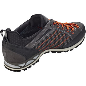 Hanwag Makra Low GTX Shoes Men asphalt/orange
